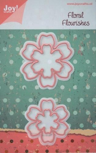 Floral Flourish 5 die set