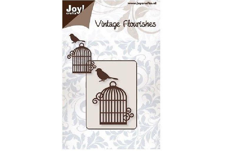 Vintage Flourishes - Bird Cage die