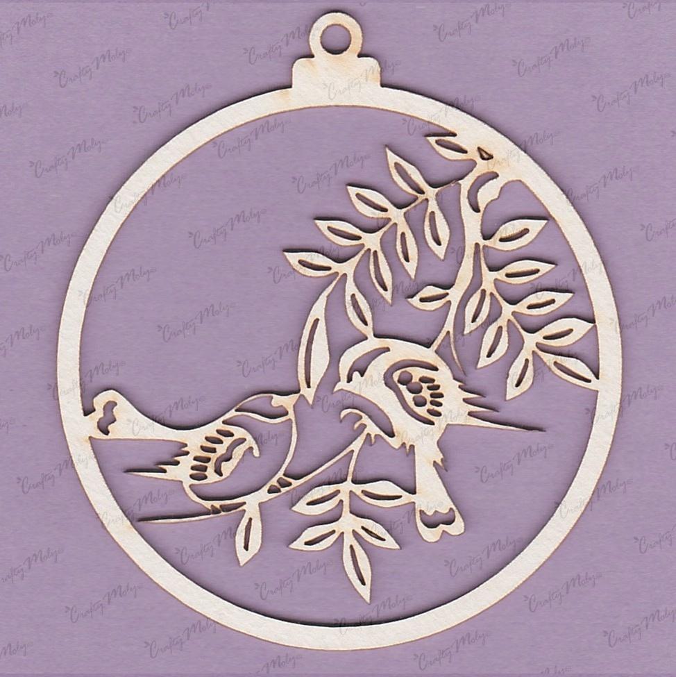 Pendant - Birds on a Branch