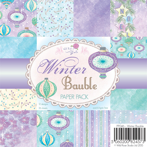 Winter Bauble 6x6 Paper Pack