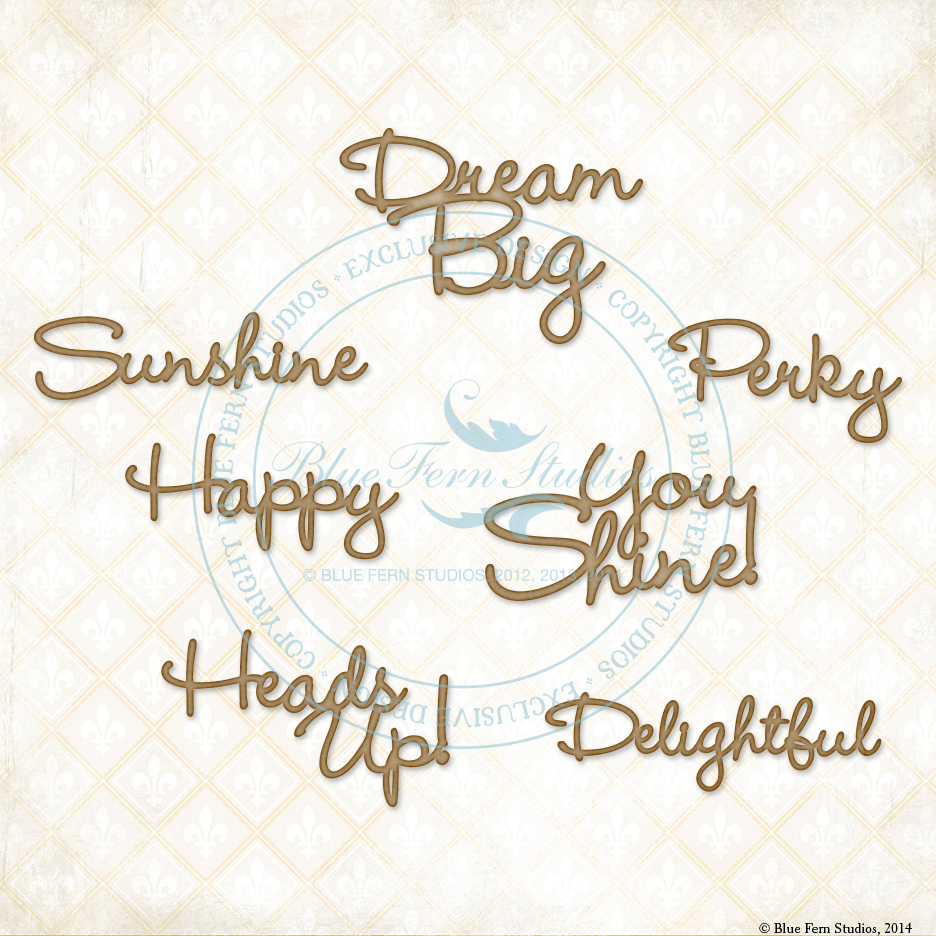 The Optimist Word Set