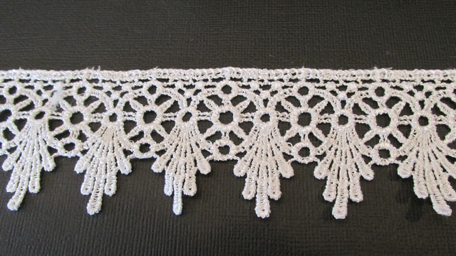 Five Point White Lace