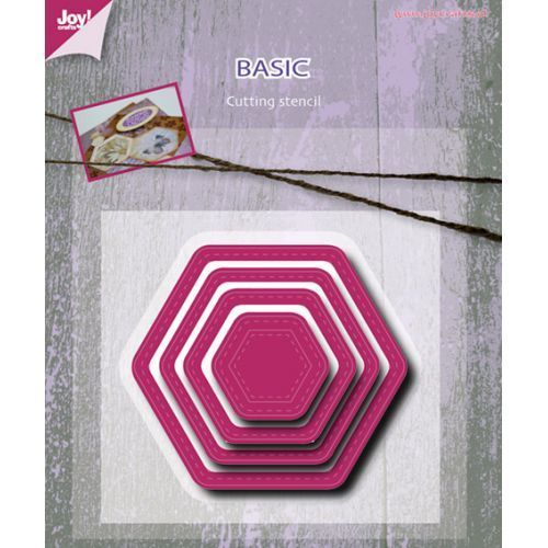 Mery's Stitched Hexagonal die set