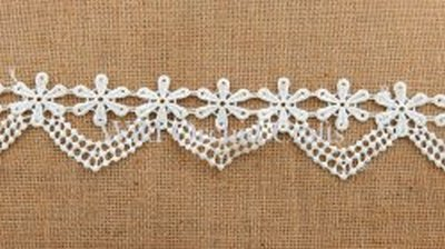 Ivory Flower Lace