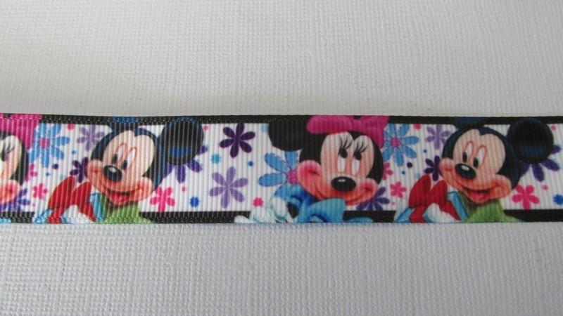Mickey & Minnie - 22mm