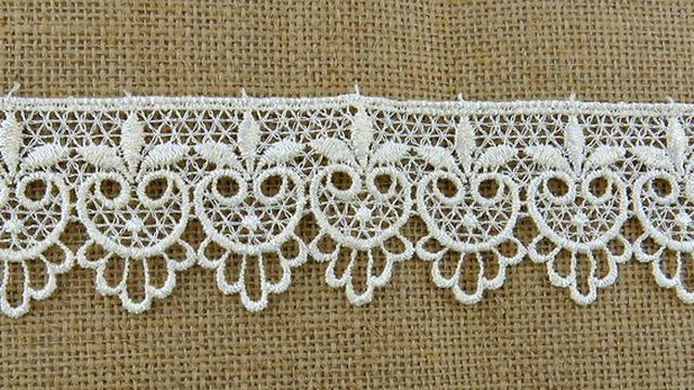 Five Point Ivory Lace