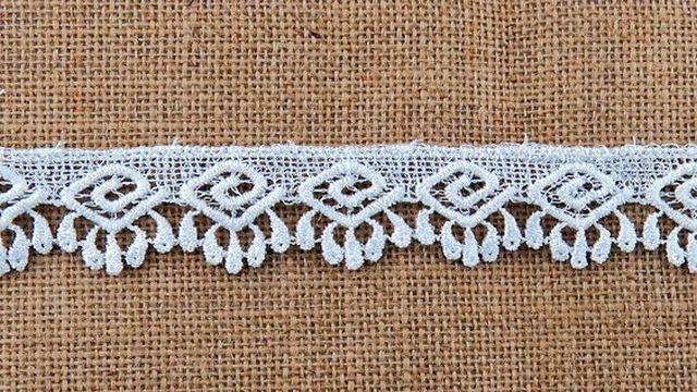 White Design Lace