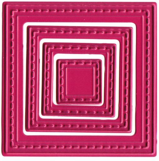 Small Nested Squares die set