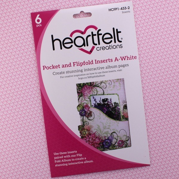 Pocket & Flipfold Inserts A - White
