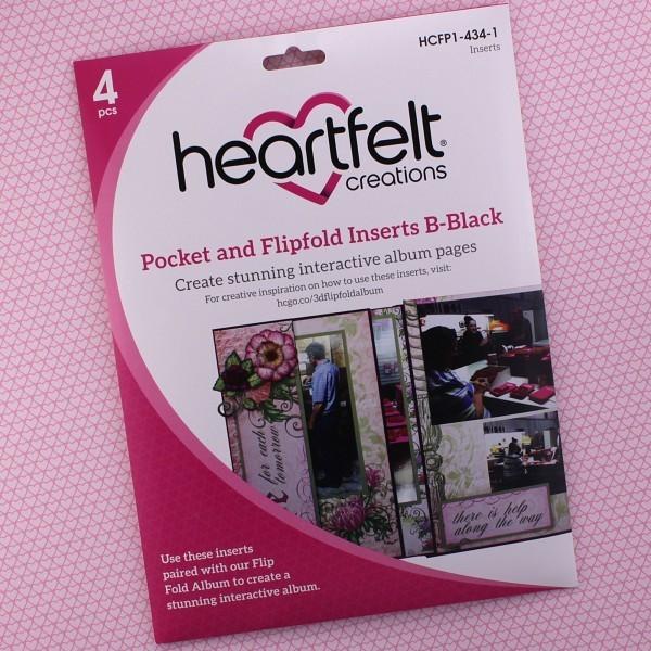 Pocket & Flipfold Inserts B - Black