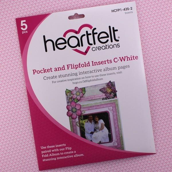 Pocket & Flipfold Inserts C - White