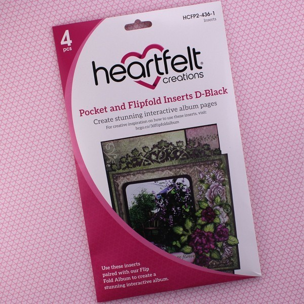 Pocket & Flipfold Inserts D - Black