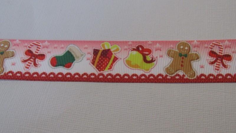 Xmas Decorations Grosgrain Ribbon