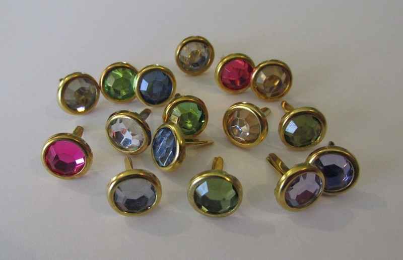 10mm Mixed Gold Edge