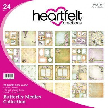 Butterfly Medley Paper Collection