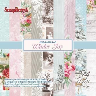 Winter Joy 6x6 paper pack