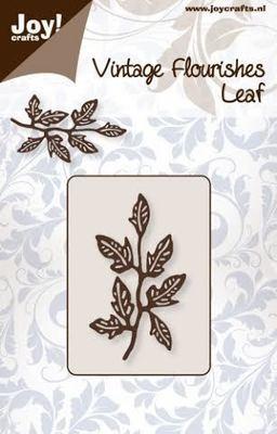 Vintage Flourishes - Leaf 2 die