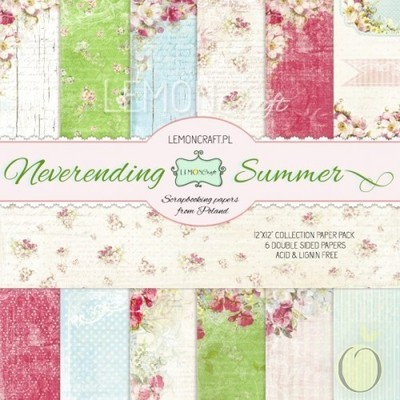 Neverending Summer 12x12 Paper Collection