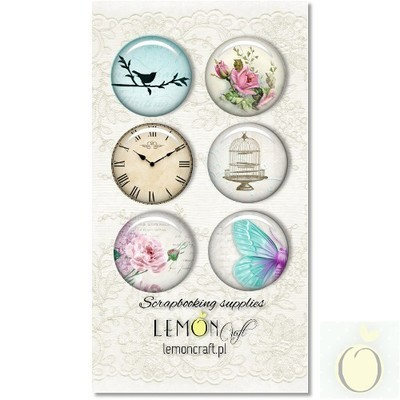 Dreamy Mornings Buttons