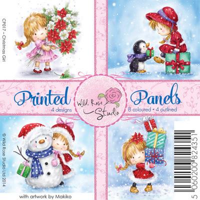 Christmas Girl Panels
