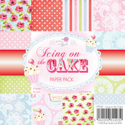 Icing on the Cake 6 x 6 Paper Pack