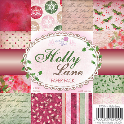 Holly Lane 6x6 Paper Pack