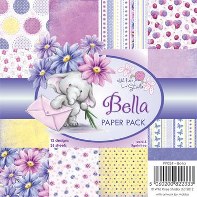 Bella 6 x 6 Paper Pack