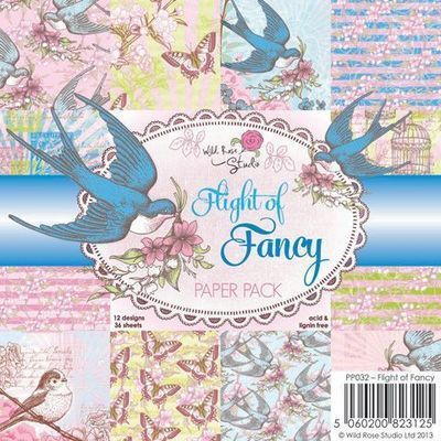 Flight of Fancy 6 x 6 Paper Pack