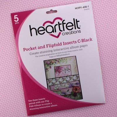 Pocket & Flipfold Inserts C - Black