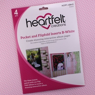 Pocket & Flipfold Inserts B - White