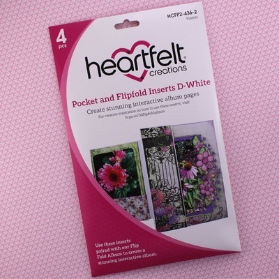 Pocket & Flipfold Inserts D - White
