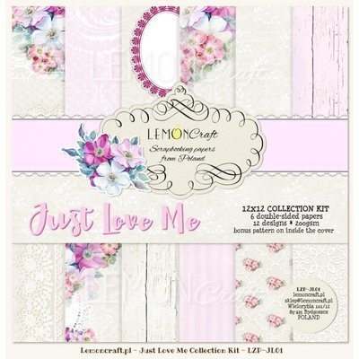 Just Love Me 12x12 Paper Collection