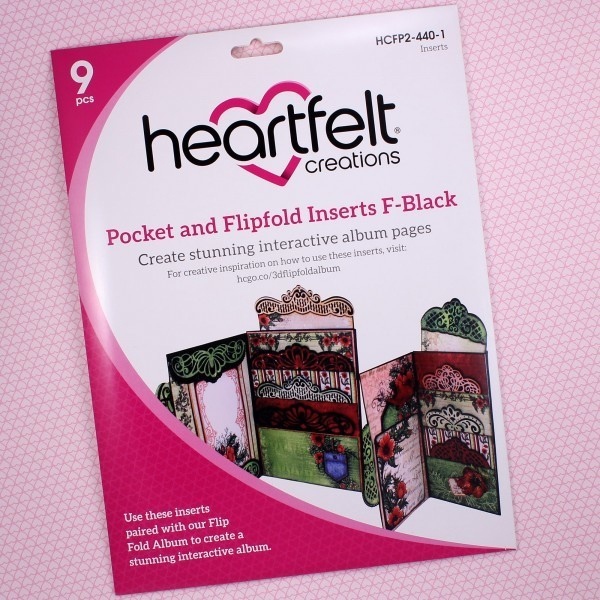 Pocket & Flipfold Inserts F - Black
