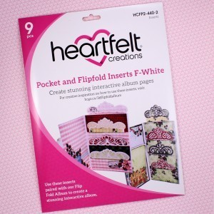 Pocket & Flipfold Inserts F - White