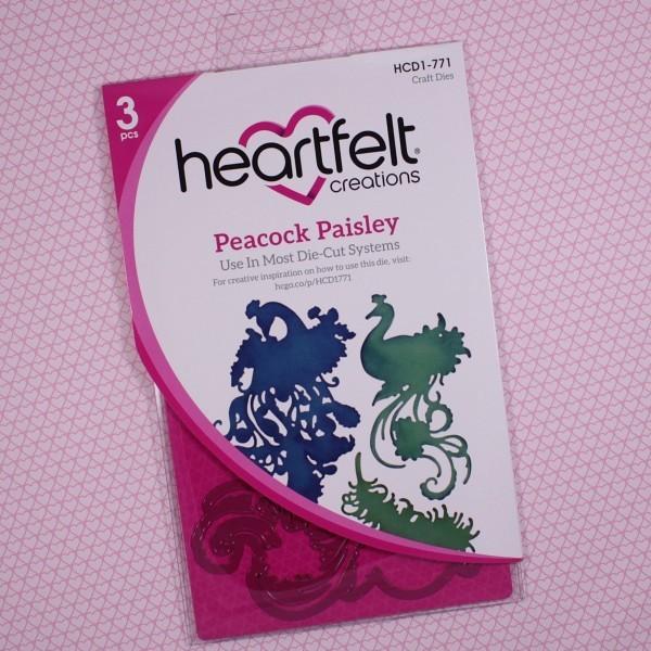 Peacock Paisley Die