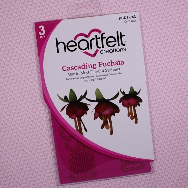 Cascading Fuchsia Die set