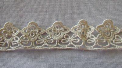 Cream Cotton Lace - 35mm