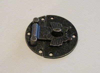 Metal Butterfly Clasp - antique bronze look