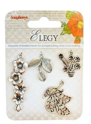 Elegy Charms 1 - 4 pcs