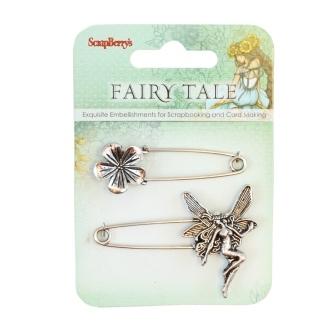 Fairy Tale 1 Pins - 2pcs