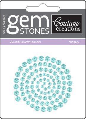 Sea Spray - Self Adhesive Gemstones x 100