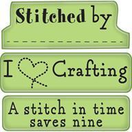 Inkadinkado Mini Cling Stamp - Crafting Expressions