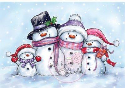 Snowmen Clear Stamp