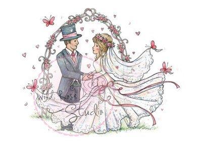 Wedding Arch Clear Stamp