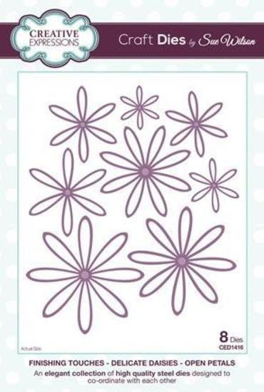 Creative Expressions Finishing Touches Delicate Daisies - Open Petals