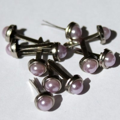 5mm Lavender/Silver