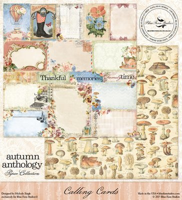Autumn Anthology - Calling Cards