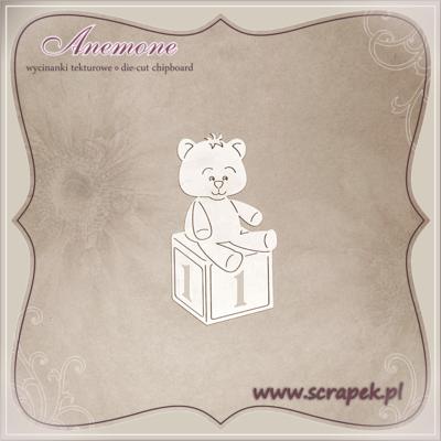 Teddy Bear on Block