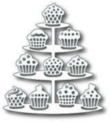 Cupcake Stand die