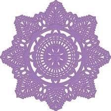 Prima Die Crochet Doily